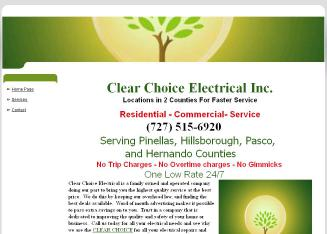 Clear+Choice+Electrical Website