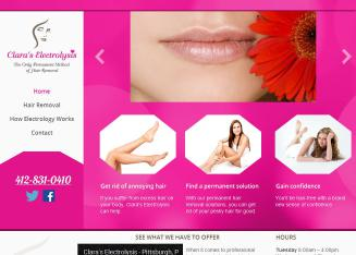 Clara%27s+Electrolysis Website