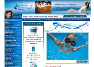 Poolandwater.com Website