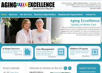 Aging+Excellence Website