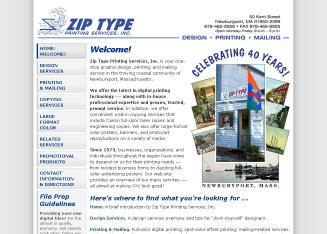 Zip+Type+Printing+Services+Inc Website