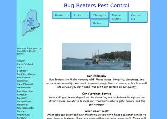 Bug+Beaters+Pest+Control Website