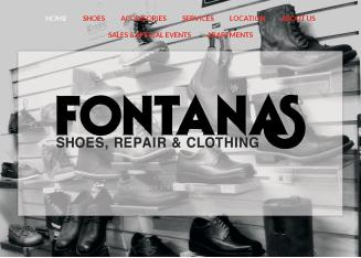 Fontana%27s+Shoes+Repair+%26+Clothing Website