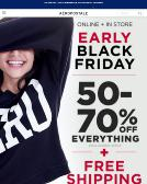Aeropostale Website