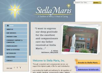 Stella+Maris Website