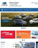 Romano+Subaru Website