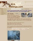 L.M.G.+Railings+Inc Website