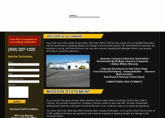 BJ%27s+Auto+Theft+%26+Collision+Repair+Specialists Website