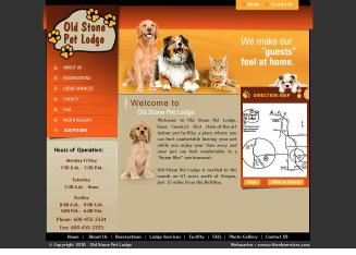 Old+Stone+Pet+Lodge Website