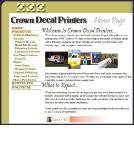 Crown Decal Printers