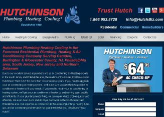 Hutchinson+Plumbing+Heating+Cooling Website