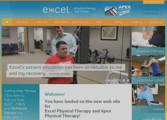 Apex+Physical+Therapy Website