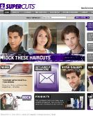 Supercuts Website