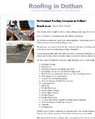 Roofing+In+Dothan+LLC Website
