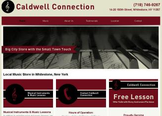 Caldwell+Connection Website