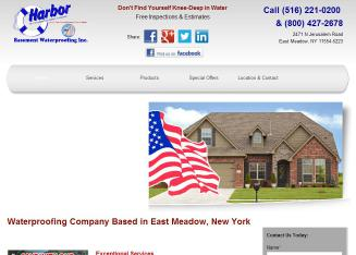 Harbor+Basement+Waterproofing+Inc. Website