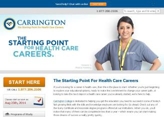 carrington college reviews 1 review for carrington college, 30 stars: i have done extensive research on online degree programs and good carer for future and.