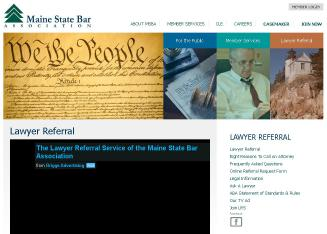 Maine+State+Bar+Assn Website