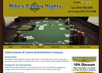 Mike%27s+Casino+Nights Website