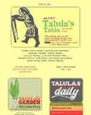 Talula%27s+Table Website
