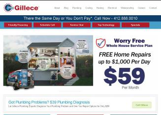 Gillece Plumbing Heating Cooling Amp Electrical Inc In
