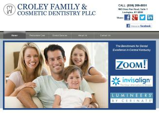 Croley+Family+%26+Cosmetic+-+Matthew+Croley+DDS Website