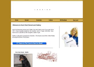 Hunt+Club+Boarding+Kennel+and+Cattery Website