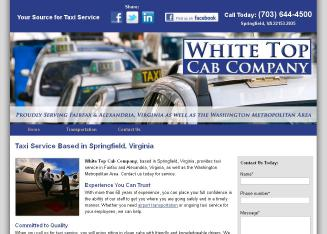 White+Top+Cab+Co Website