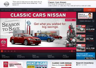 Classic+Cars+Nissan+Inc Website