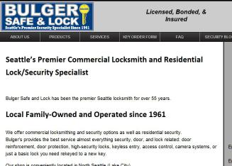 Bulger+Safe+%26+Lock Website