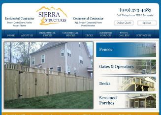 Sierra+Custom+Fence Website