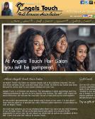 ANGELS+TOUCH+HAIR+SALON Website