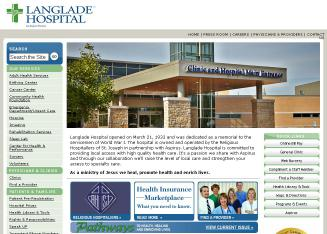 Langlade+Memorial+Hospital Website