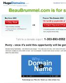 Beau+Brummel Website