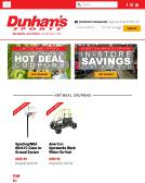 Dunham%27s+Sports Website