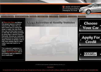Metro+Auto+Sales+INC Website