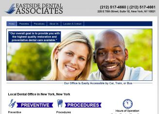Eastside+Dental+Associates Website
