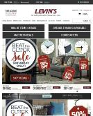 Levin+Furniture Website