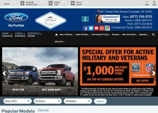Scarsdale+Ford Website