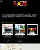 All+Star+Sports+Bar+%26+Grill Website