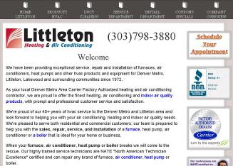 Littleton+Heating+and+Air+Conditioning Website