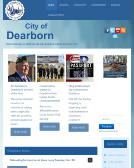Dearborn+City+Hall Website