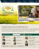 Heritage+Funeral+Home Website