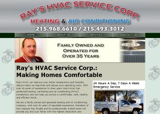 Ray%27s+HVAC+Service+CO Website
