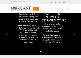 Norcast+Communictions Website