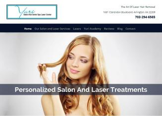 Youri+Hair+Skin+Nail+Salon Website