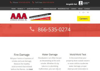 AAA+Standard+Services+Inc Website
