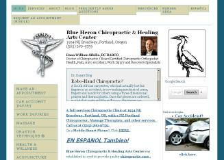 Blue+Heron+Chiropractic+%26+Healing+Arts+Center Website