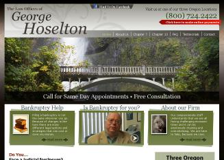 George+Hoselton+Bankruptcy+Attorney+at+Law Website