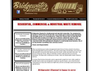 Bridgewater+Disposal+Service Website